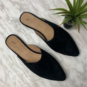 Madewell Remi Suede mule sz 9.5